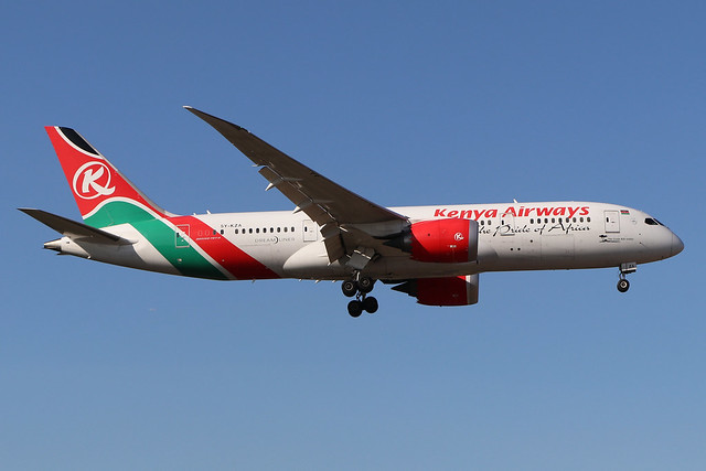 5Y-KZA  -  Boeing 787-8 Dreamliner  -  Kenya Airways  -  LHR/EGLL 19/9/19