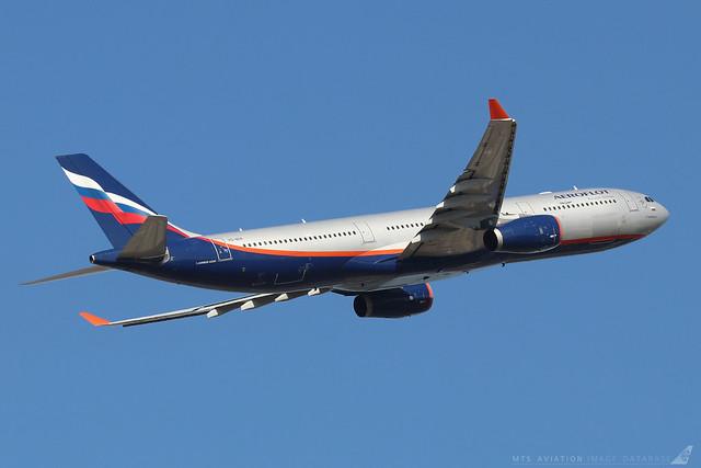 VQ-BEK  -  Airbus A330-343  -  Aeroflot  -  LHR/EGLL 19/9/19