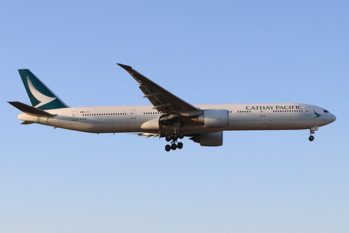 B-KQB Boeing 777 367ER 39235 Cathay Pacific Airways LHR/EGLL 19/9/19 | by Martin Stovey
