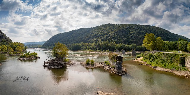 Harpers Ferry - Confluence of Potomac & Shenandoah Rivers