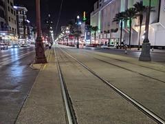 Canal Street streetcar tracks
