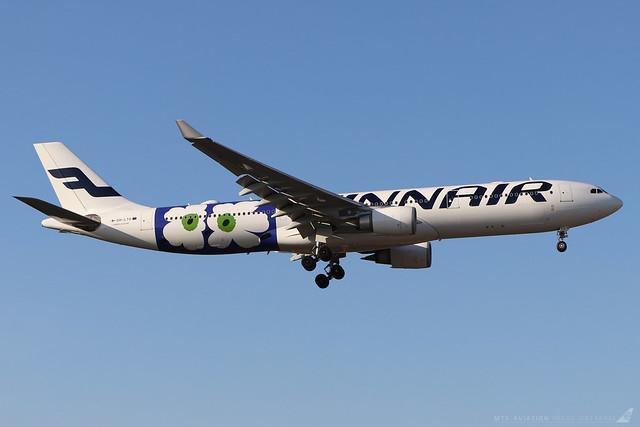OH-LTO  -  Airbus A330-302E  -  Finnair (Marimekko Unikko livery) -  LHR/EGLL 19/9/19