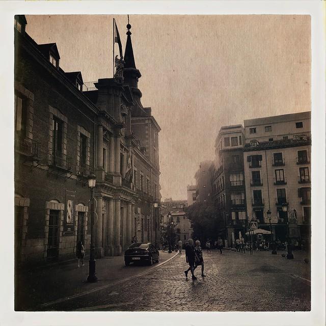 ...plaza de la Provincia...Hipstamatic....