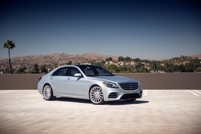 XO Luxury London on Mercedes-Benz S560