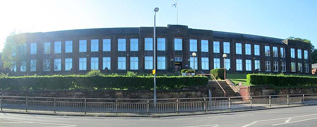 Dumfries Academy Frontage