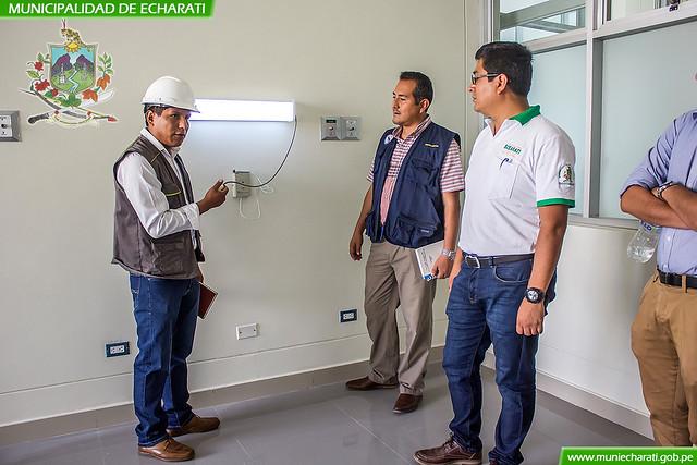 La MDE y la Red de Salud La Convención implementaran los centros de salud de Echarati