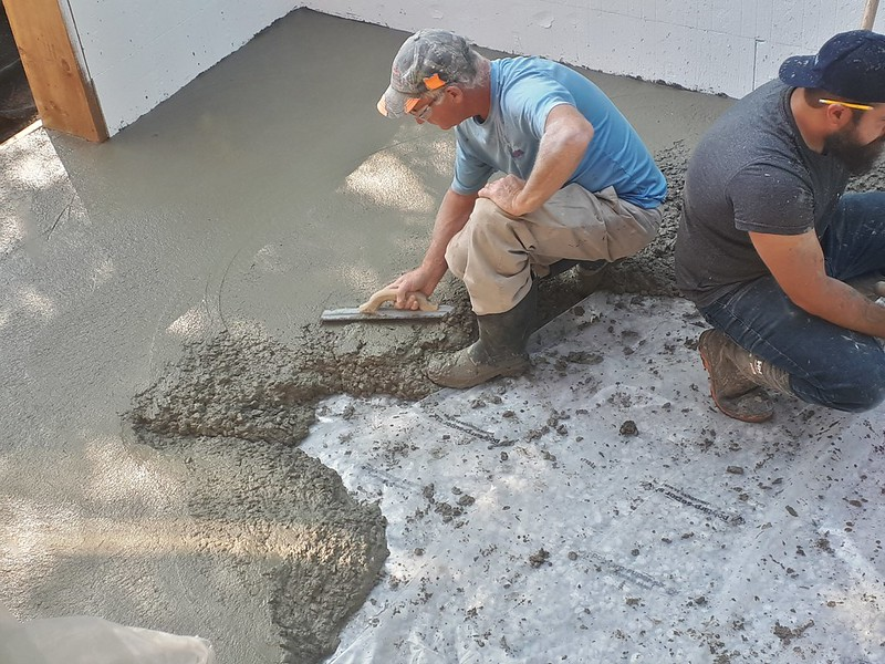 Concrete for the Crawlspace 20190918_105045