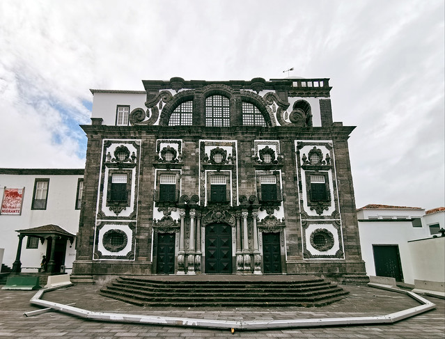 Iglesia del Colegio de los Jesuitas Ponta Delgada Isla San Miguel Azores Portugal