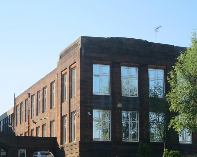 Gable End Dumfries Academy Building