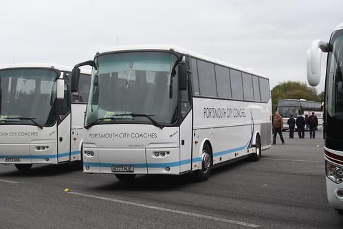 Portsmouth City Coaches N777MJE Michaela