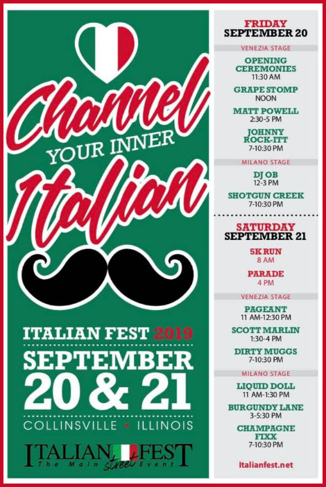 Italian Fest Stages