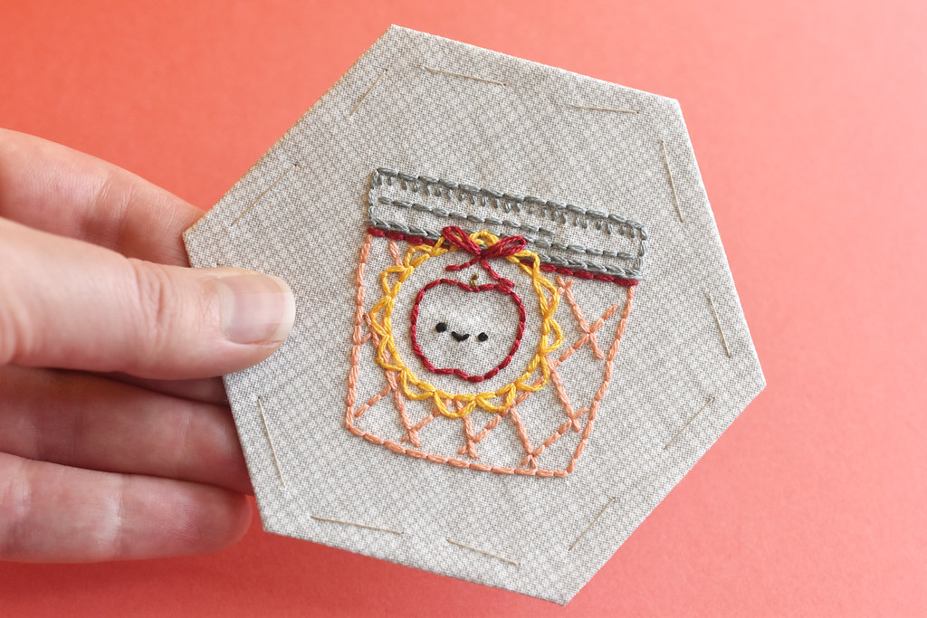2019 September Jam of the Month Embroidery Pattern