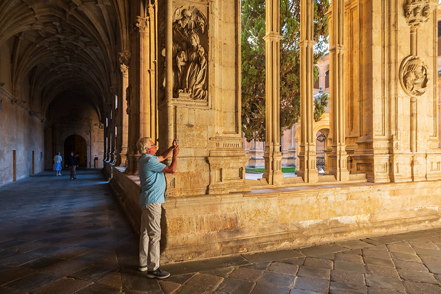 Inside Convento de San Esteban, Salamanca 0515