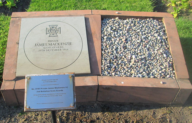 Centenary Memorial to Private James McKenzie VC