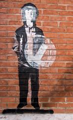 Riot PTSD graffiti