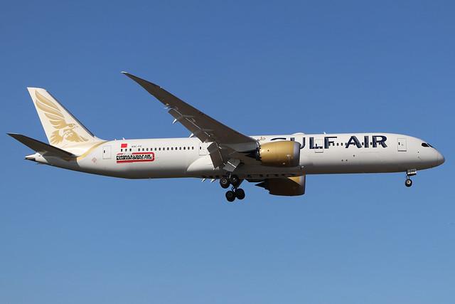 A9C-FE  -  Boeing 787-9 Dreamliner  -  Gulf Air  -  LHR/EGLL 19/9/19