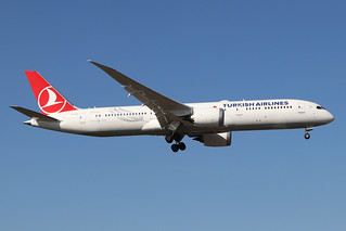 TC-LLC  -  Boeing 787-9 Dreamliner  -  Turkish Airlines  -  LHR/EGLL 19/9/19 | by Martin Stovey