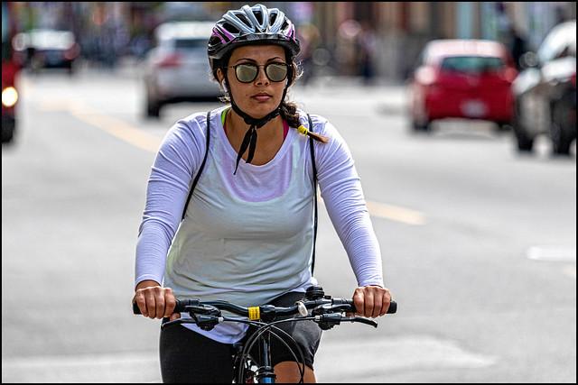 Bank Street Bicycle Rider