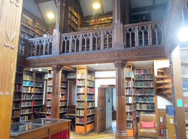 reading room lower floor