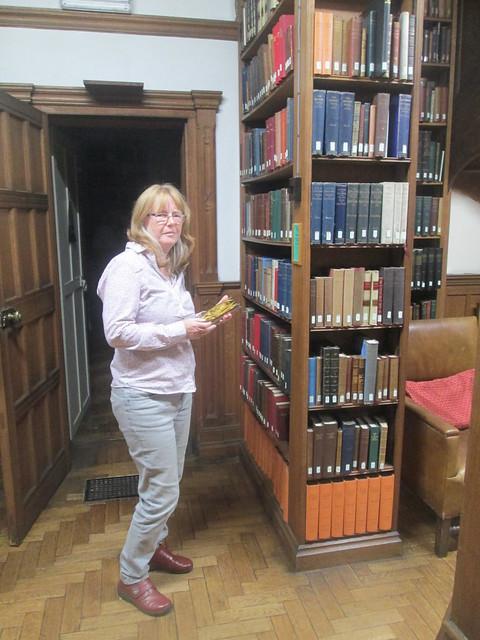 Gladstone's Library reading room Katrina