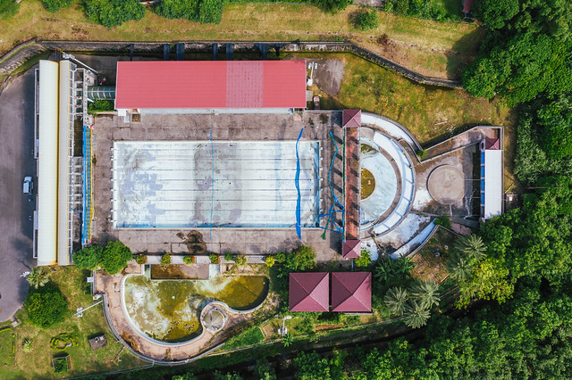 廢棄游泳池|中興新村