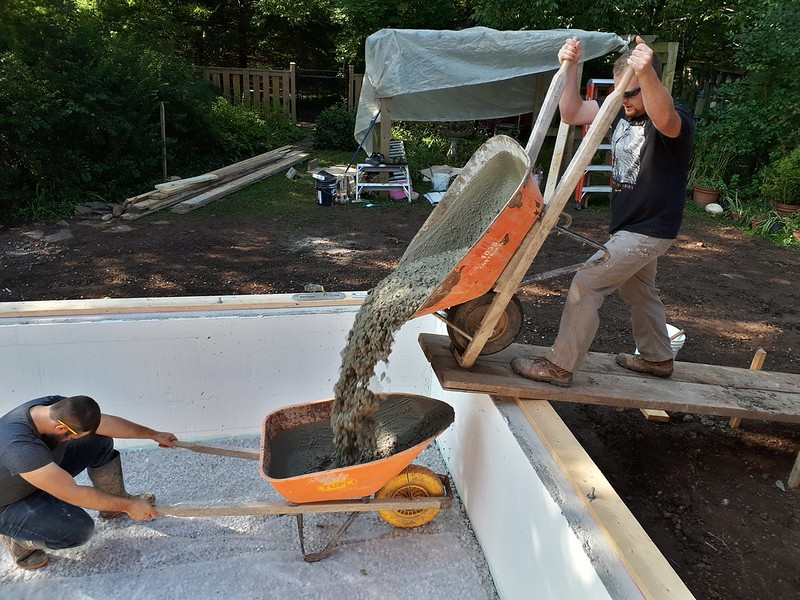 Concrete for the Crawlspace 20190918_101622