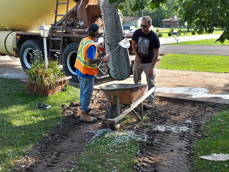 Concrete for the Crawlspace 20190918_101354