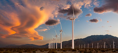 Wind Turbines - Palm Springs, CA