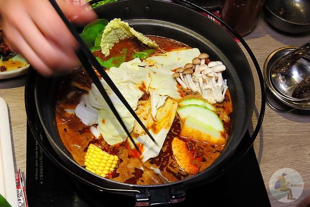 港式品鮮紅白火鍋
