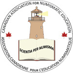 Canadian Association for Numismatic Education CAFNE logo