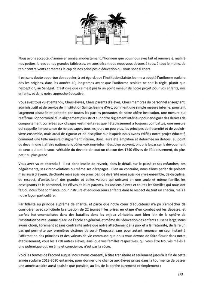 Réglement Intérieur ISJA DAKAR 2