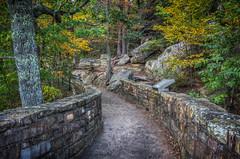 Walkway through Cumberland Gap National Historical Park