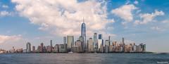 New York City Skyline Panorama Summer 2019