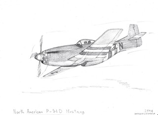 North American P-51D Mustang, 1944, United States of America