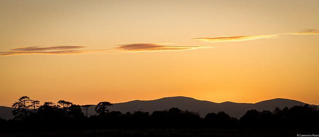 Sunset at Malvern