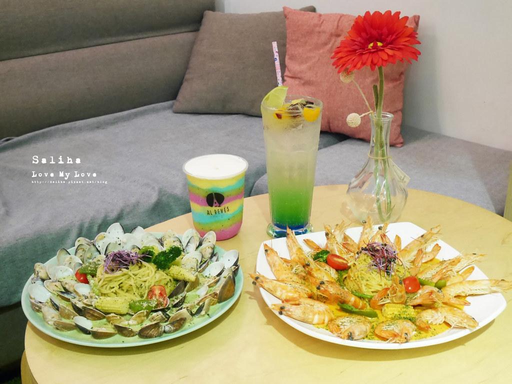 台北西門站好吃義大利麵美食推薦顛倒餐廳蛤蜊大份量澎派海鮮 (3)