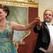 Chanteurs d'opéra sur la scène du palais Palffy