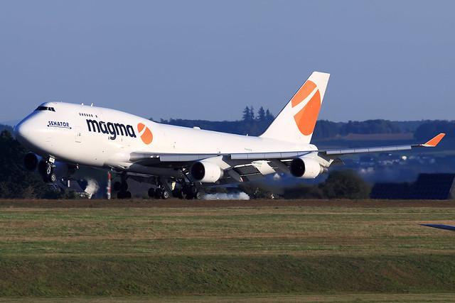 Magma Aviation (Air Atlanta Icelandic)  Boeing 747-412(BCF) TF-AMI