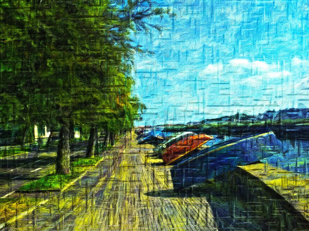 Paseo puntal hondarribia - Guipuzcoa