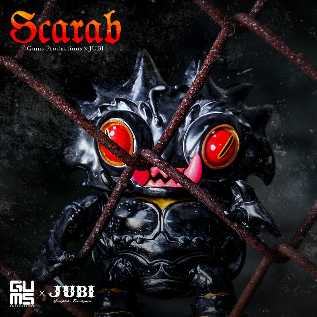 兇猛又可愛的護身怪獸! 台灣設計師 JUBI 最新作【聖魔蟲】Scarab 發表!
