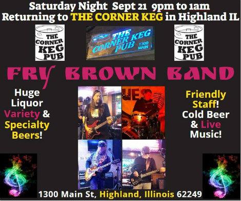 Fry Brown Band 9-21-19