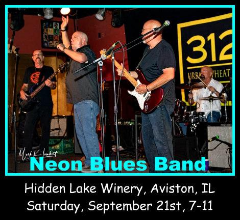 Neon Blues Band 9-21-19