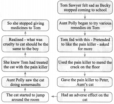 Tamilnadu Board Class 9 English Solutions Supplementary Chapter 4 The Cat and the Pain-killer - 6