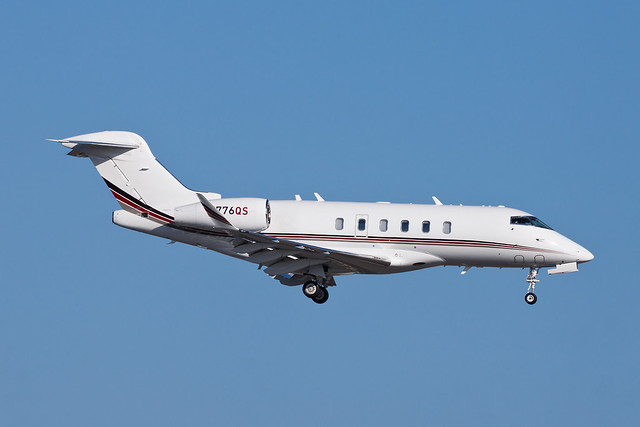 Private (NetJets) Bombardier BD-100 Challenger 350 N776QS