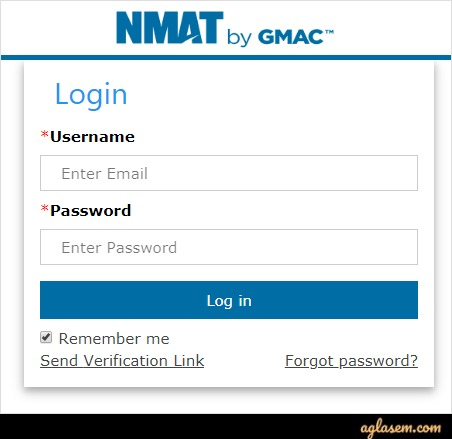 Download NMAT 2020 Admit Card