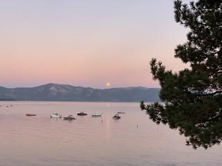 Tahoe Moonrise