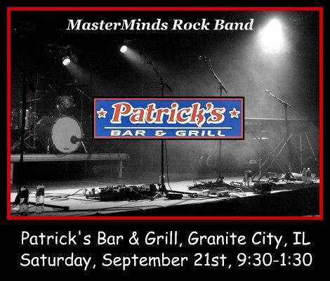 Masterminds Rock Band 9-21-19