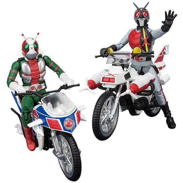 V3 與 X 兩位騎士颯爽登場!《假面騎士》掌動「SHODO-X」系列 第 7 彈(SHODO-X 仮面ライダー 7)