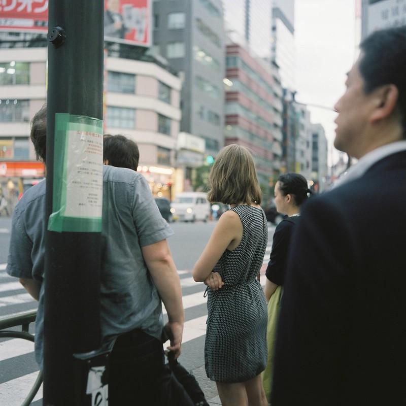 Meopta flexaret+Belar 80mm f3 5+FUJIFILM PRO 400H西新宿甲州街道交差点