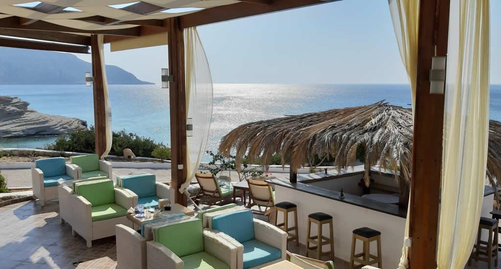 Leuke restaurants op Karpathos: La Capannina, Amoopi | Vakantie Karpathos